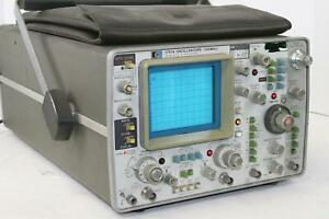 Hp Hewlett Packard 1741a Oscilloscope Read Description