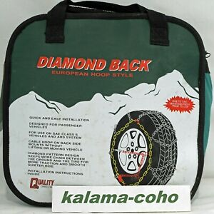 Chains 1540q Diamond Back Tire Snow Chain