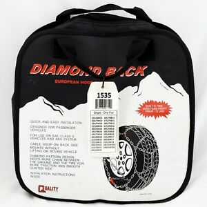 Chains 1535 Diamond Back Tire Snow Chain