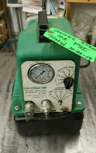 Greenlee 37300 Electric Hydraulic Pump Assembly Without Pendant Controller
