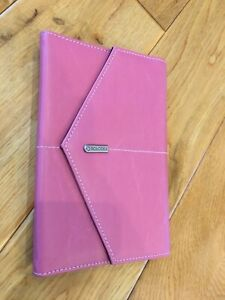 Rolodex Business Card Holder Note Pad Soft Pink Medium Size Never Been Used