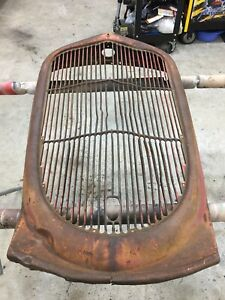1935 Ford Pickup Grille For Truck Hot Rod Rat 35 36 1936 Used Cool