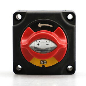300a Battery Isolator Disconnect Power Cut Off on Switch For Marine Boat Rv Atv