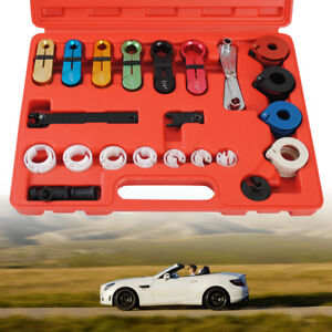 Hot Sale 22pc Fuel Deluxe A c Transmission Line Disconnect Tool Kit For Ford Gm