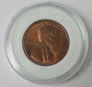 1983 Rare Lincoln coin - trim off center double die reverse errors Collectible  $159.00