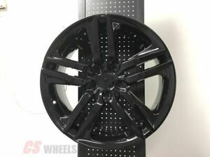 18 Hfp Style Accord Sport Fits Honda Civic Si New Gloss Black Alloy Wheels