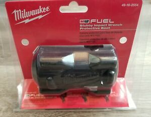 Milwaukee M12 Stubby Impact Wrench Boot cover For 2554 20 Or 2555 20 49 16 2554