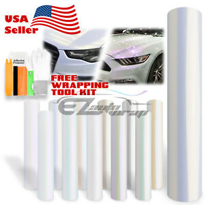 Pearl White Gloss Matte Metallic Style Vinyl Wrap Sticker Decal Air Release