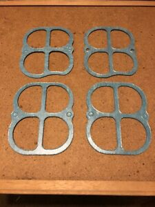 Plenum Gaskets Two Pair That Fit The Weiand Boss 302 Tunnel Ram Intake