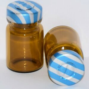 Usp 5 Ml Amber Sterile Vial With Blue Stripe Center Tear Seal Any Qty