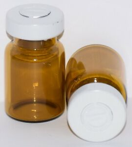 Usp 5 Ml Amber Sterile Vial With White Center Tear Seal Any Qty