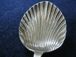 Sterling Silver Sugar Shell New Orleans Souvenir Spoon By Bates