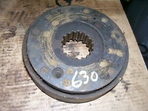 Vintage Ji Case 630 Gas Tractor brake Disc Assembly 1959