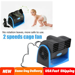 Dc 12v 7w Car Auto Electric Air Fan Low Noise Universal Adjustable 2 Speeds