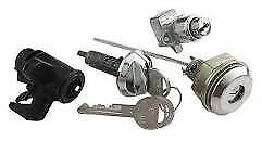 Mopar A body 1973 74 Glove Console Trunk Latch Lock Set With Oem Md2658