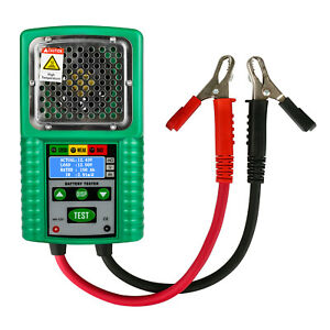 Automotive Battery Tester 6v 12v For Ups Solar Energy Storage Marine Chargers