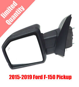 2015 2019 Ford F150 Pickup Driver Side Mirror W Blind Spot Camera Turn Signal