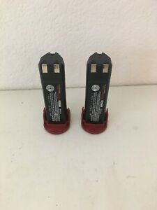 2x Snap On Ctb5172 7 2v Nicd Battery Faulty For Parts Or Repair Fast Free Ship
