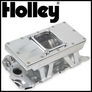 Holley Sbc Small Block Chevy Sniper Fabricated Intake Manifold 4500 Dominator