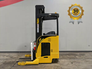 2006 Yale Nr040 4000lb Cushion Single Reach Truck 36v Electric Hi Lo 108 242