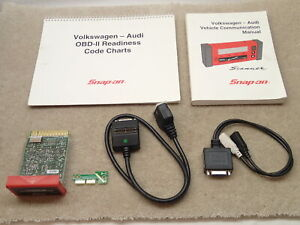 Snap On Vw Audi Communication Cartridge Thru 2002 For Mt2500 Mtg2500 Scanner