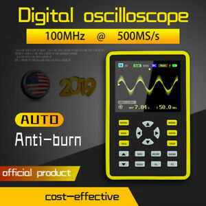 4in1 5012h 2 4 Lcd Display Screen Handheld Portable Digital Oscilloscope 100mhz