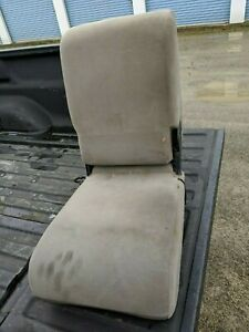 1997 Dodge Ram Center Console Jump Seat Tan Brown Cloth