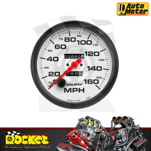 Auto Meter Phantom 5 In dash Speedometer 0 160mph Au5895