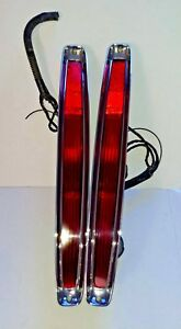 1989 1993 Cadillac Deville Hot Rod Tail Lights Oem Taillights Rh Passe Lh Driver
