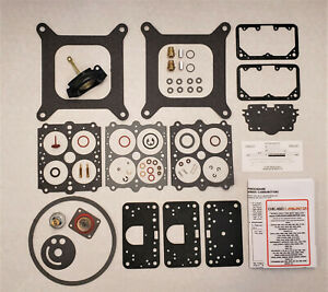1963 67 Ford Mustang Mopar Holley With Lemans Bowls Carb Kit 3255 3259 2973 More