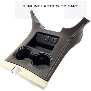 Cocoa Brown Front Floor Console Cup Holder Usb 2016 17 Chevrolet Tahoe Suburban