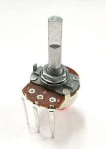 Philmore Pc36 100k Ohm Audio Taper Potentiometer 24mm Body With 1 4 D Shaft