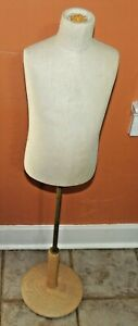 Fusion Specialties Cloth Covered Child Mannequin Form Adj Stand No Cap Free Ship