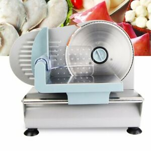 Home commercial Electric Meat Slicer Blade Deli Cutter Veggies Food Cutter