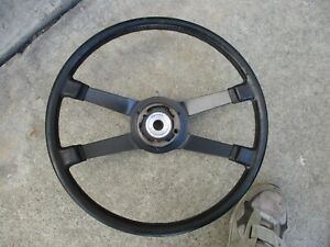 Porsche 914 4 1972 1976 Factory Vdm Foam Shaped Steering Wheel German Original