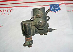 Tillotson Brass Carburetor Model A T Tt Ford Original Air Intake Fuel Delivery
