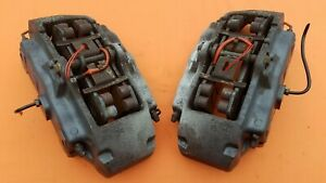 2004 2010 Brembo 18z Front Brake Calipers 6 Piston Vw Touareg Audi Porsche Set