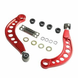 For 06 15 Honda Civic 1 8l 2 0l Rear Upper Camber Correction Kit Anodized Red