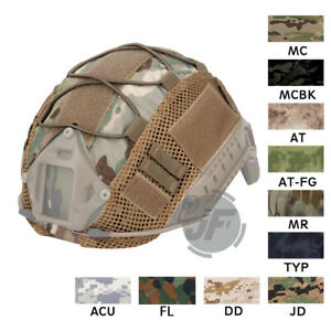 Tactical Helmet Camo Cover Camouflage Multicam for PJ MH Fast Helmet Hook