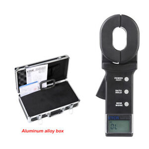 Etcr2000a Ground Earth Resistance Meter Tester 0 01 To 200 Clamp Meter