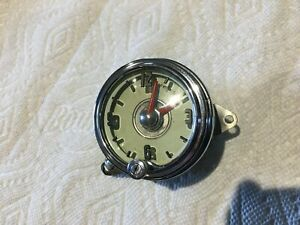 49 Oldsmobile Original Working Dash Clock Serviced Tested And Nice