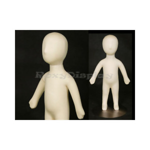 Childrens Flexible Full Body Mannequin Dress Form With Removable Head 3m