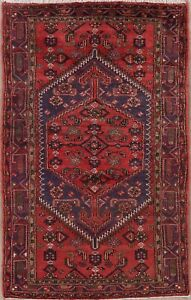 Tribal Geometric Traditional Oriental Area Rug Wool Hand Knotted Home Decor 4x8