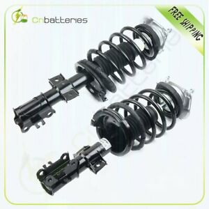 For 2001 09 Volvo S60 2 Front Complete Struts Shocks Assembly W Coil Springs