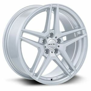 Four 4 16x7 Rtx Oe Stern Et 35 Silver 5x112 Wheels Rims
