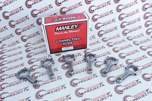 Manley Pro Series I Beam Turbo Tuff Rods 5 709 Lenght For 2006 2016 Bmw N54b30