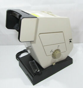 Military Optec 2300 Vision Stereoscope Optical Eye Tester Working W slides