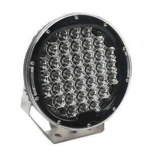 1x 9inch 185w Led Round Work Light Spot Driving Head Fog Offroad For Jeep Suv Us