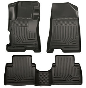 Husky Weatherbeater For 2014 2015 Kia Sorento Front Rear Floor Liner 99871