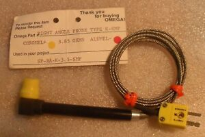 Omega Sp ra k 3 5 smp Type K Thermocouple Right Angle Surface Probe New